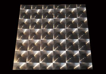 3D Lens Metalised Film