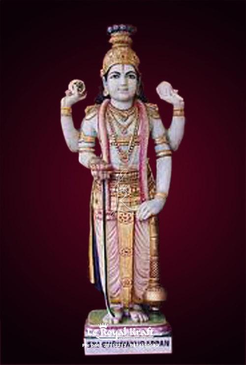 Marble Guruvayur Statue