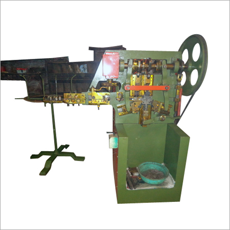 Cylinder Cap Hook Making Machine