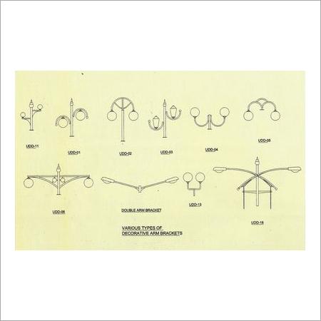 Decorative Arm Brackets