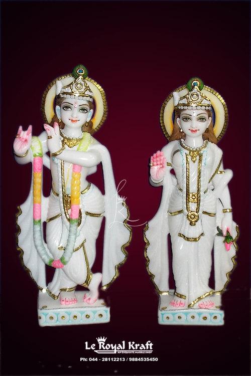 Marble Radha Krishna Idols