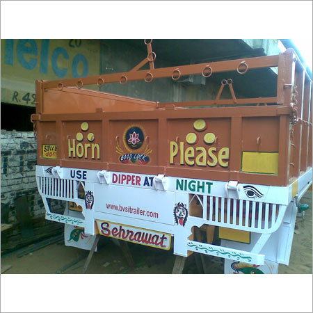 Fabricated Trailer Body