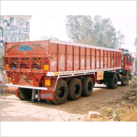 18 Wheeler Truck Open Body