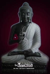 Buddha Medication Statue