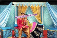 Wedding Embrodried Garba Backdrop