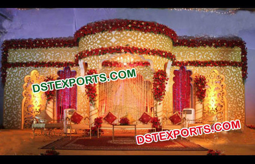 Latest Indian Wedding Stage