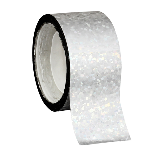 Silver Sequins Holographic Tape