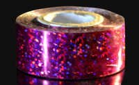 Red Sequins Holographic Tape