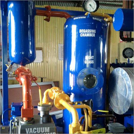 Industrial Oil Filtration Machine