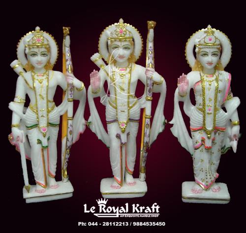 Marble Ramdarbar Statues