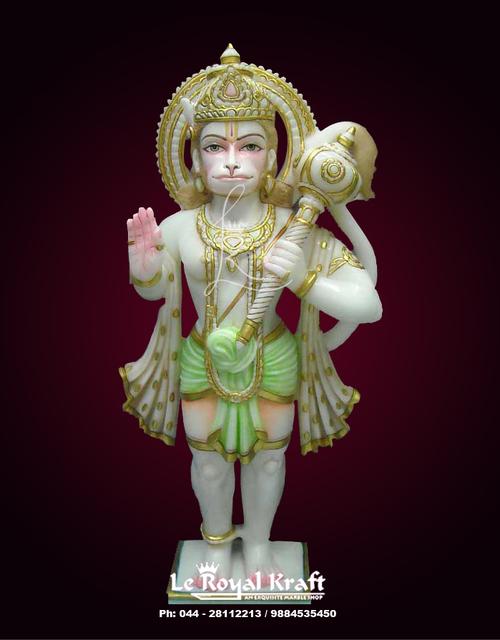 Hanuman Marble Sculpture