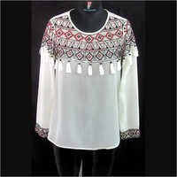 Embroidered Women Top