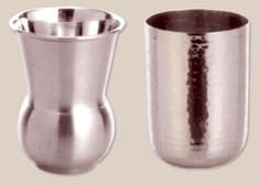 Matka glass& glass hammered