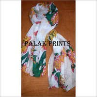 Linen Screen Printed Stoles