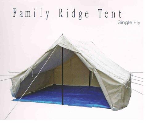 Family Ridge Tent ( Single Fly)