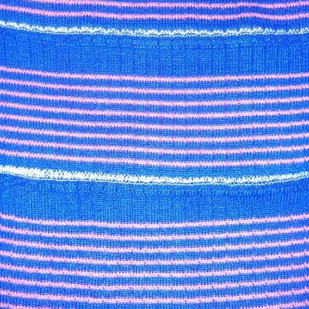 Drop Needle Striped Collar