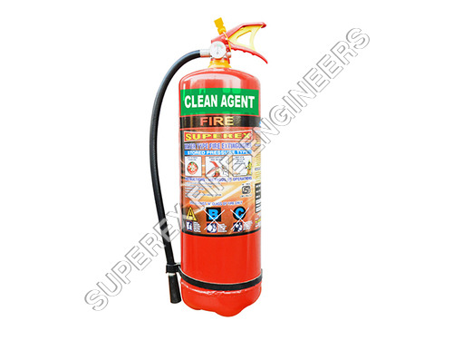 Clean Agent Type Fire Extinguishers