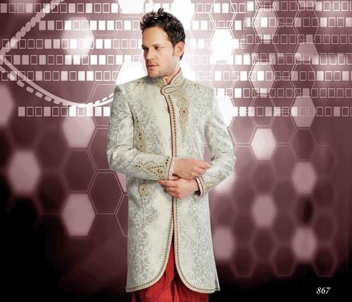 Heavy Embroidered Men's Sherwani