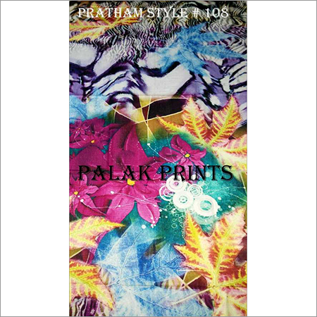 Multi Color Printed Stoles