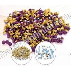Gold Foil Resin Chatons
