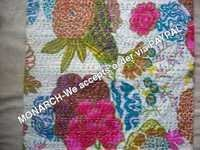 MULTI COLOR FLOWER COTTON CUTION COVER