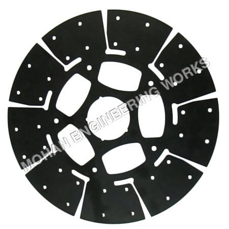 Five Window Clutch Plate