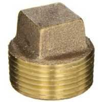 Brass Square Head Cored Plug