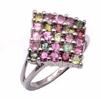 925 Sterling Silver Tourmaline Gemstone Ring