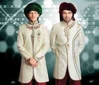 Semi Wedding Sherwani