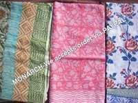 MULTICOLOR SARONGS OF HAND BLOCK PRINT