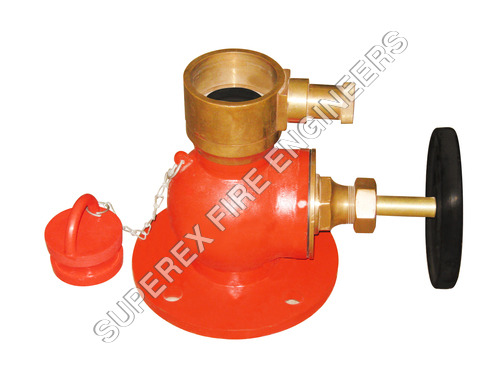 LANDING VALVE SINGLE OUTLET STRAIGHT TYPE