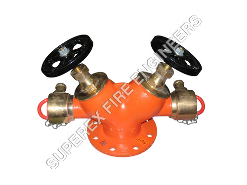 LANDING VALVE DOUBLE OUTLET TYPE - B