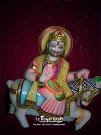 Marble Ramdevbaba Statue