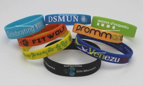 Engraved Silicone Band