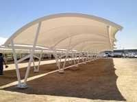 PVC coated fabric for Car Parking Shed