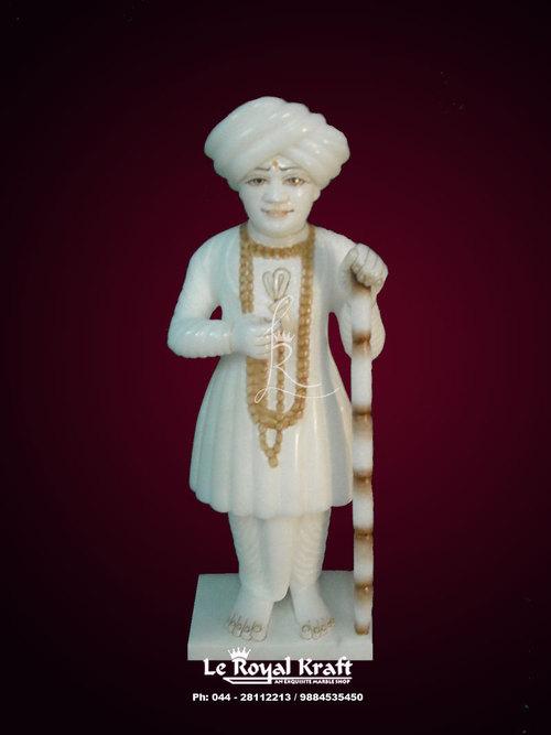 Marble Jalaram Bapa Statue