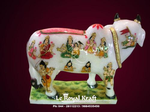 Marble Kamadhenu Cow