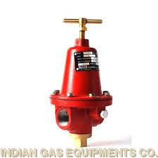 Adjustable Pressure Regulator For High Flow-Rates