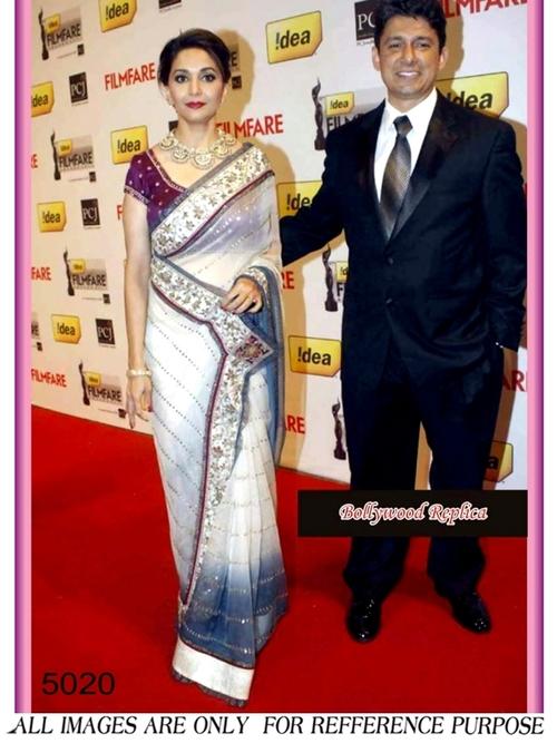Madhuri Dixit Bollywood Saree
