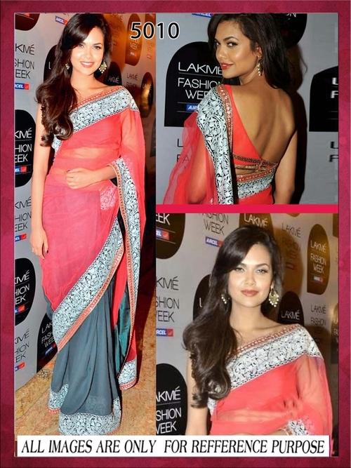 Bollywood Replica Saree Esha Gupta