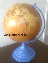 Globe With Blue Stand