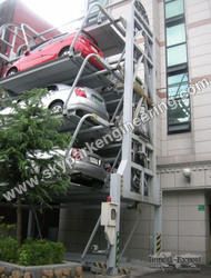 Vertical Building Parking System