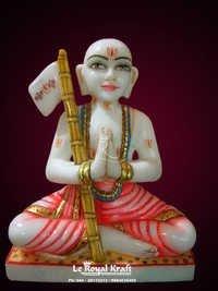 Marble Ramanujam Statue