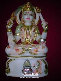 Marble Santoshi Mata Statue