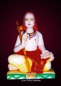 Marble Shankarachary Statue