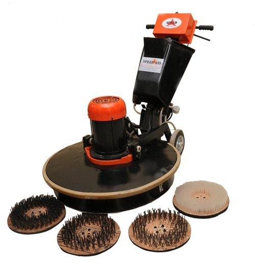 Three Brush Floor Scarifying (Speed-525)