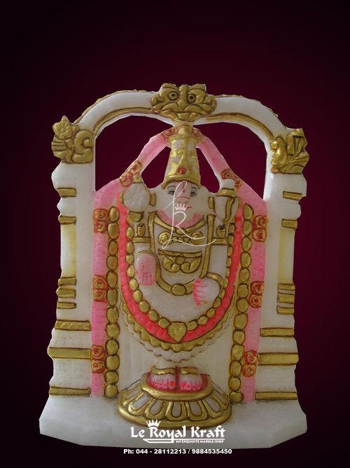 Marble Venkateswara Idol