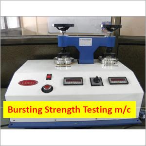 Bursting Strength Tester