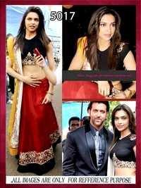 Deepika Bollywood Lehenga Choli Style