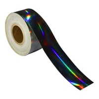 Holographic Tapes Rainbow Silver